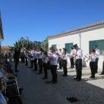 Presença da Banda da Covilhã na instituição