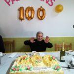 100º  Aniversário de um Utente